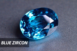 Blue Zircon in Chiang Mai from Shiraz Jewelry