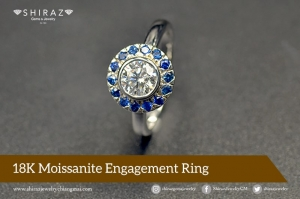 Why not a moissanite ring for her?