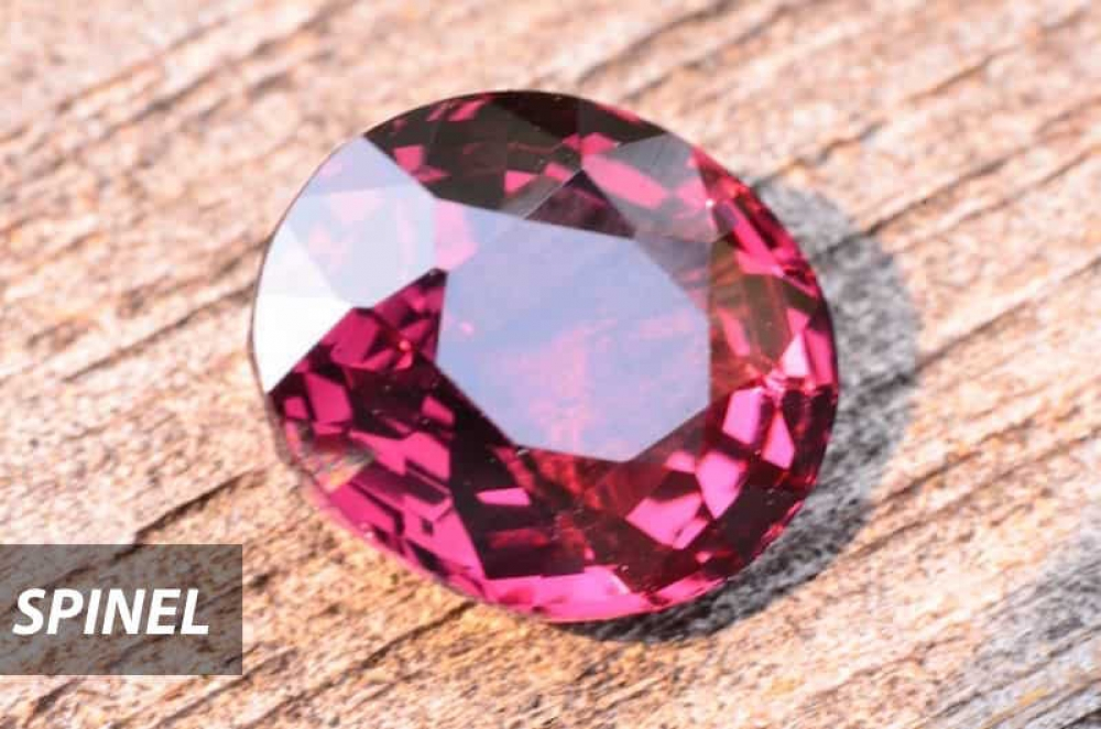 Burmese spinel in Chiang Mai