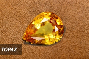 Selected orange topaz from Shiraz Jewelry collection. Their inexpensive and hardness properties made them perfect for daily jewelry.
