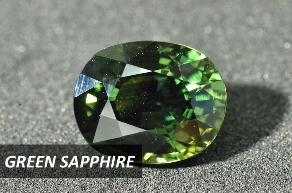 What a beautiful green sapphire! Mined and cut in Thailand, this green sapphire is one of the gems you can get at a significantly low price in Thailand.