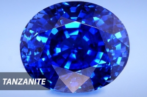 Tanzanite is getting more attention as blue sapphire alternative. Heat treatment will make tanzanite's color more vivid.