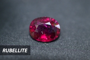 Rubellite may be mistaken with Ruby but they are completely different. The name rubellite refers to pink or red color variety of Tourmaline.
